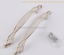 Wholesale Ivory White Metal Furniture Handles and Pulls for Modern Home Ornments