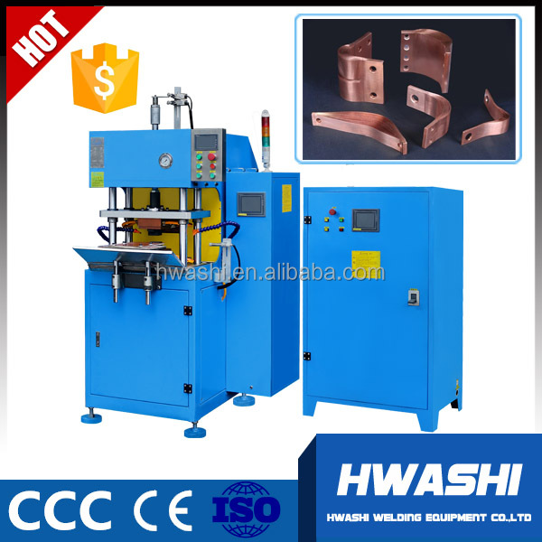 HWASHI Copper Laminated Foil Connector Macromolecule Diffusion Welding Machine