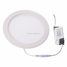 alibaba express flexible solar panel led slim round light <strong>flat</strong> panel ul round
