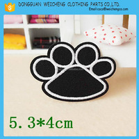 Customized Lovely Foot Embroidery Patch for children clothing