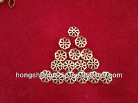 lead free leaf shape filigree jewelry findings for jewelry making