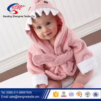 Super cute animal hooded baby towel
