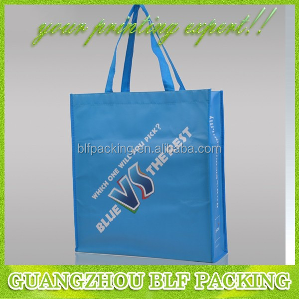 (BLF-NW042) Pictures printing non woven shopping bag