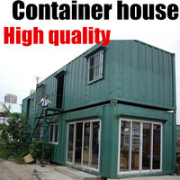 Steel Frame Prefabricated Prefab Dog Camp Mobile Light House