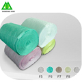 synthetic polyester air inlet filter roll media for prefilter by 150g 2