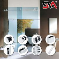 hardware parts for sliding accessible shower doors