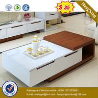 High quality Modern office furniture wooden coffee tables(HX-CF017)