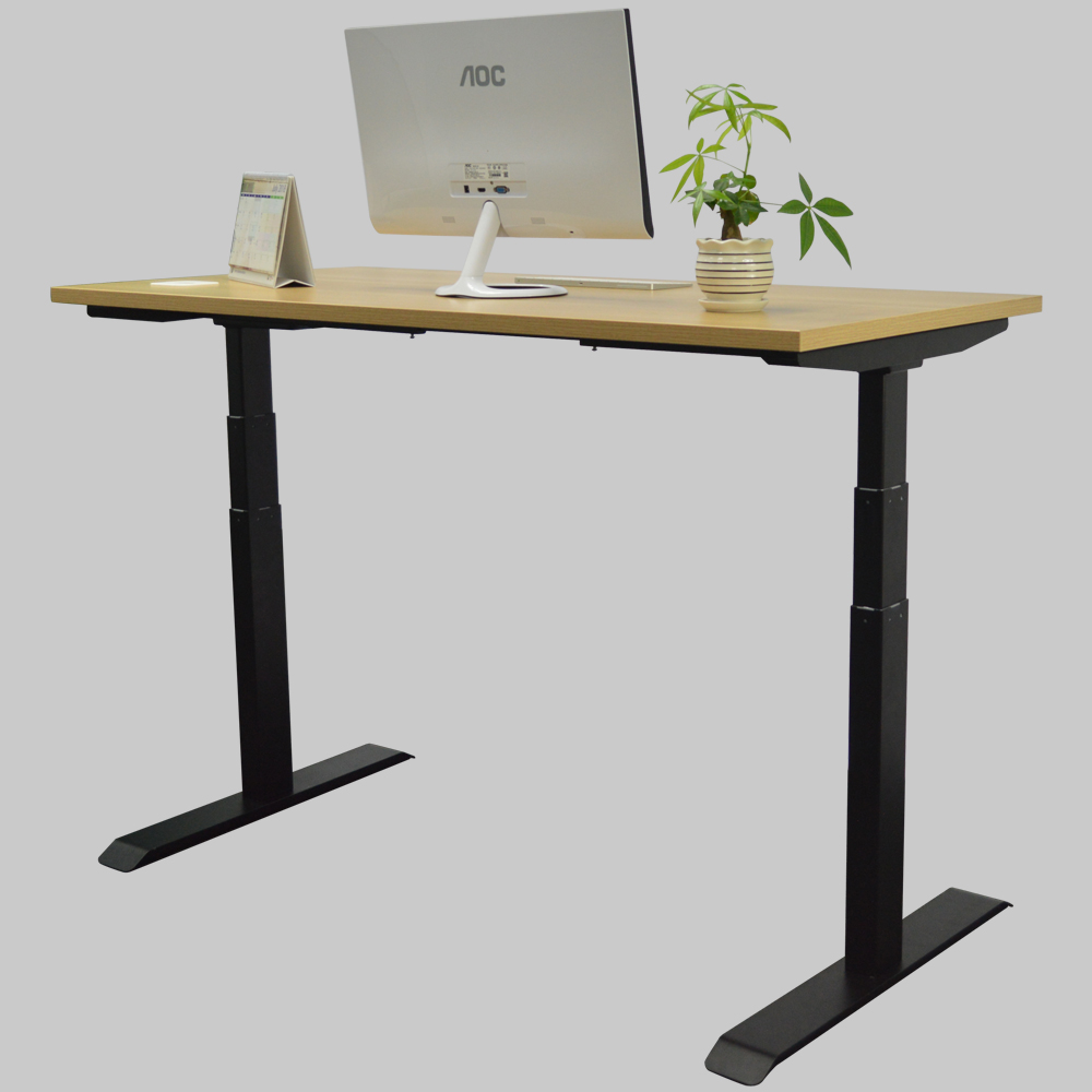 Office Ergonomic Healthy Sit Stand Standing Desk Electric Height