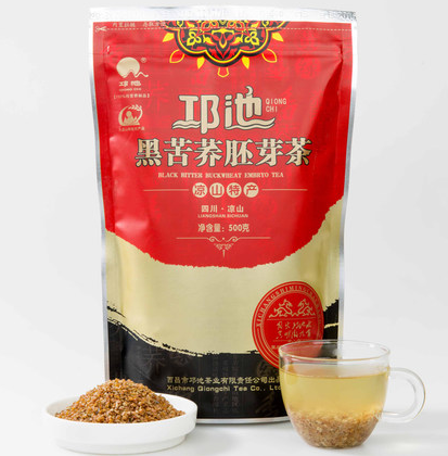 qiongchi Black tartary buckwheat germ <strong>tea</strong> chinese herbal <strong>tea</strong> with no side effect and good for blood suger,blood fat