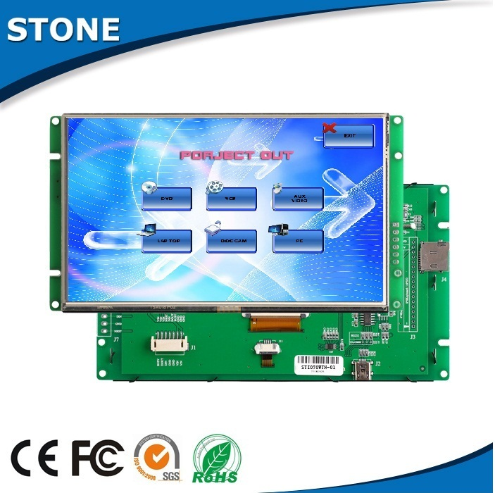 5 inch touch screen sunlight readable car lcd screen digital display