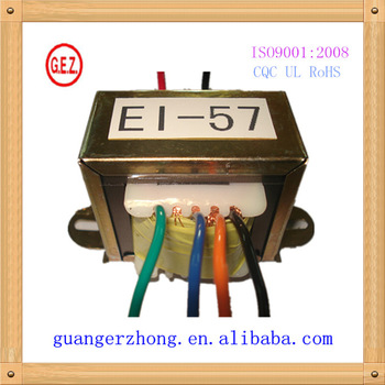 EI 57 series 1v to 36v 12v dc neon transformer with CE ISO9001 UL CQC certification