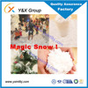 Christmas tree deco non-flammable artificial magic instant snow flake