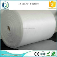 White color epe foam roll as packaging material