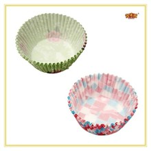 Colored round shape disposable paper cake cups/Baking molds/moulds, mini silicon baking cups