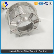 SS 316L material 1000x1200mm size sintered mesh centrifugal separator filtrer element used to chemical industry