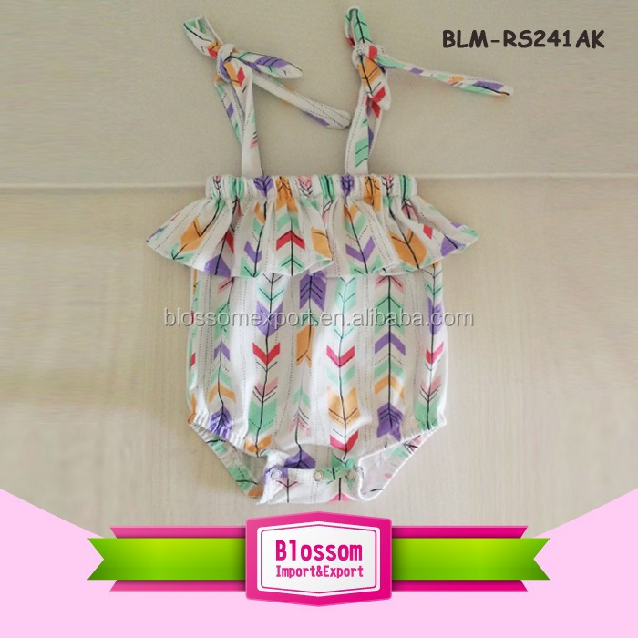 Adorable Summer Suspender Toddlers Bubble Rompers Jumpsuit Cotton Baby Rompers