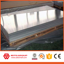 Anodized alloy coated 2mm Thick and Other Standard Size Brushed Aluminum Sheet
