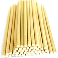 chinese wholesale small round shape nature bamboo disposable chopsticks