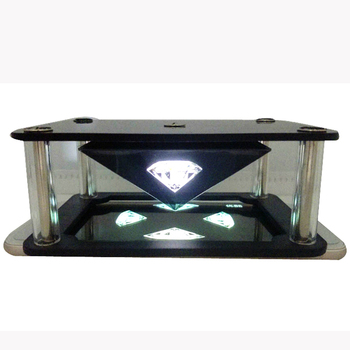 2019 new hot product mini smart phone 3D pyramid hologram manufacturer