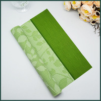 plastic woven for table cloth