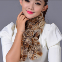 2015 The Lastest Design Fur Scarf Shawl / Rex Rabbit Fur Scarf