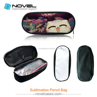 New Arrived! DIY Sublimation Blank Canvas Pencil Case/Pencil Bag