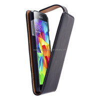 Smart leather flip case for samsung s5,wholesale cell phone accessory for samsung galaxy s5