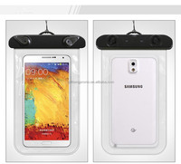 wolesale floating pvc cell phone bag waterproof , waterproof mobile case