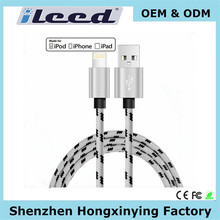 High Quality Cable for Iphone 6 Braided Usb Charger with Cable, Usb Extension Cable, Mfi Cable