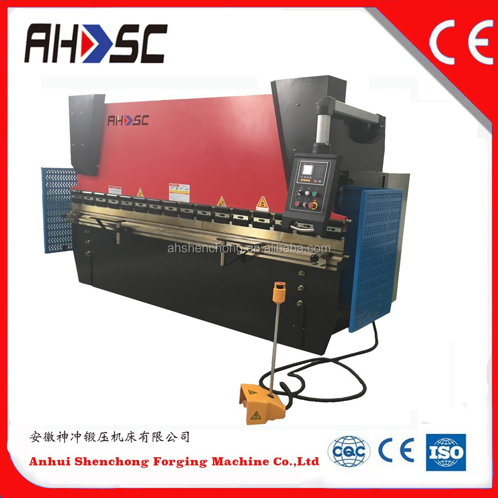 WC67Y Eletro-Hydraulic Dual Servo Controlled CNC Press Brake