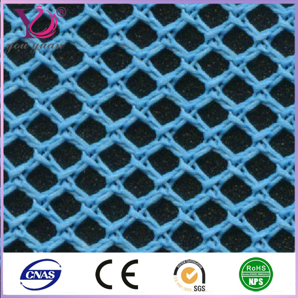 Big hole geo mesh fabric for seat cover fabric