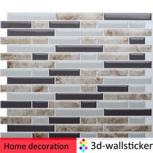 do-it-yourself mosaic peel and stick vinyl tile decorative Kitchen bathroom backsplash decals