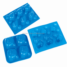 Factory direct sale mickey mouse shaped silicone cake mold with 10 years
