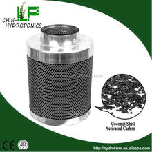 "4"", 6"", 8"", 10"", 12"" of Activated carbon filter/inline duct fan"