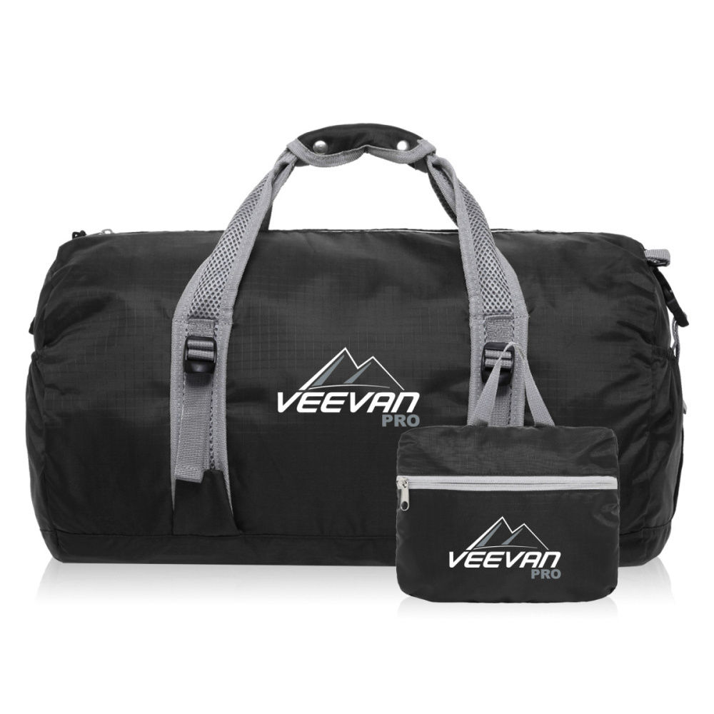 Folding lightweight waterproof large sports bag gym mens duffle bags foldable travel bag