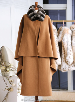 High Quality Customise Women 100% Cashmere Coat