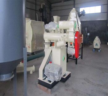 Flat Die Diesel Engine Chicken Feed Pellet Machine