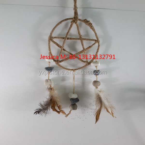 wall hangings stone dream catcher