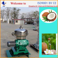 Stainless steel fully continuous virgin coconut oil centrifuge machine