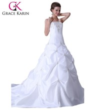 Grace Karin Ball Gown Bridal Wedding Dress China CL2524