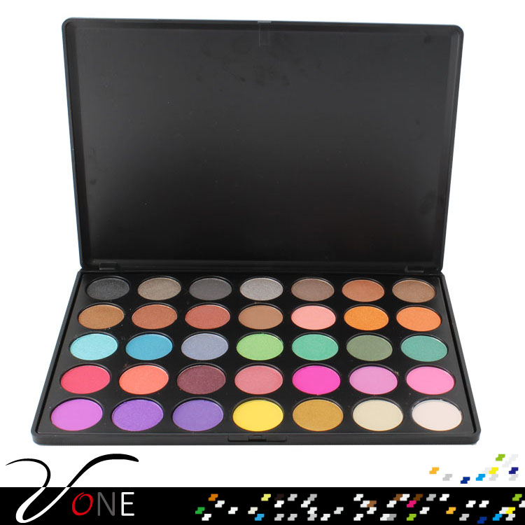 professional makeup meis cosmetics 35 colors eyeshadow palette with private label