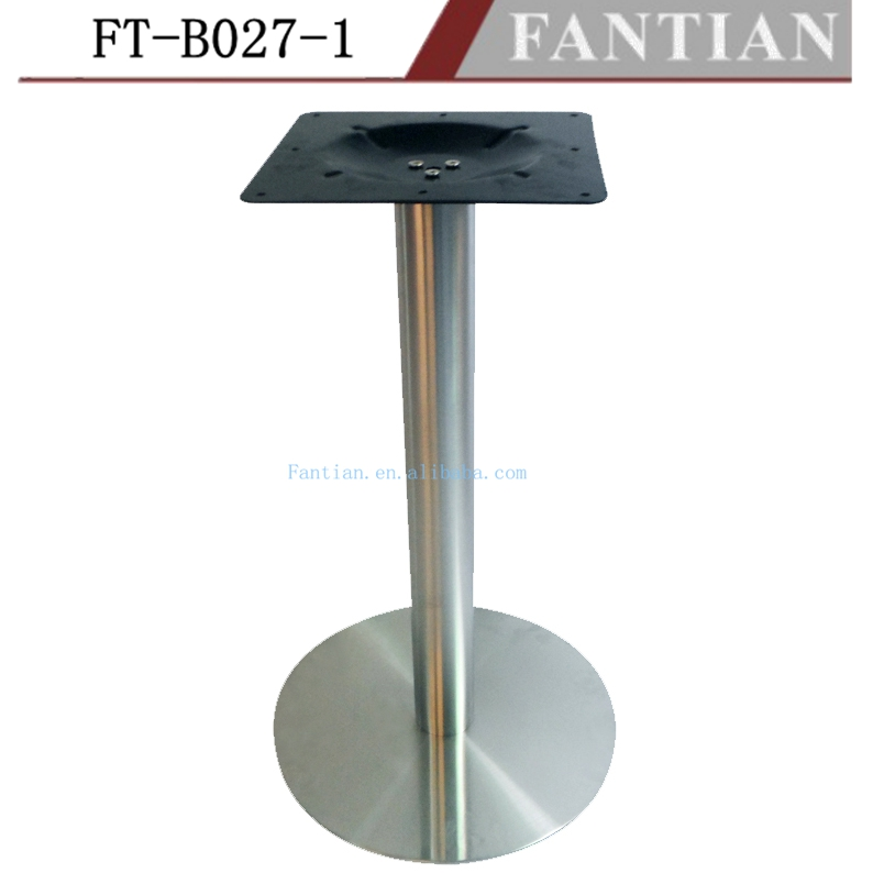 Modern style Brushed stainless steel table bases or legs for dining table desk