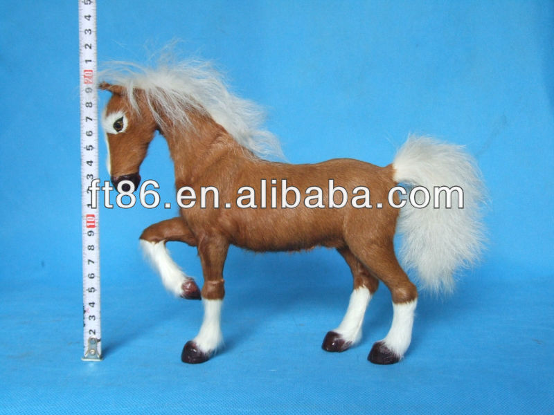 OEM-high quality plush toy closeout horse animal wholesale