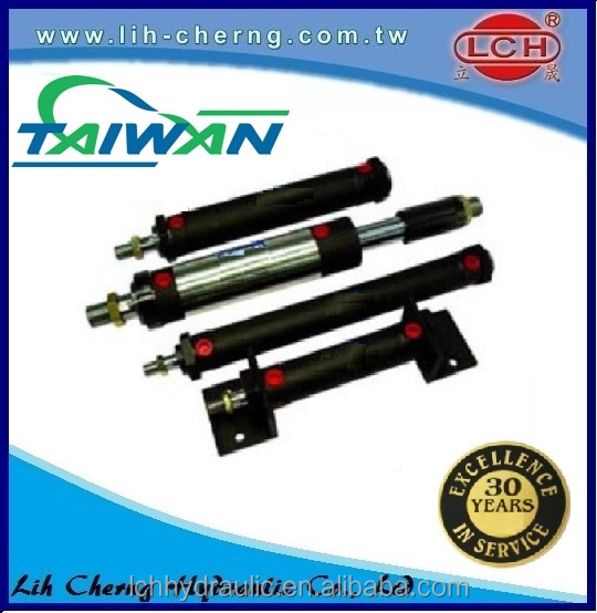 industrial hyva double acting work support hydraulic cylinder price