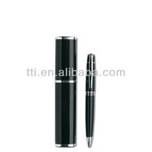 Metal Pen Deluxe in box twist type ball pen promotional slogan logo SA8000 Sedex factory SMETA 4 audit