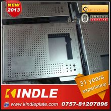 Kindle New customized galvanized steel crate in Guangdong ISO9001:2008