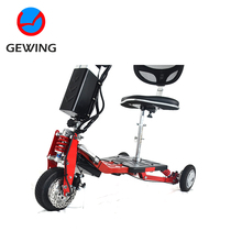 Cheap Custom Three 3 Wheel Electric Scooter For Disabled Adult With Ce Approved