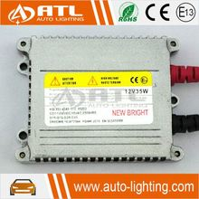 ATL High Quality Shock Price DC 12V Hid Ballast 35W 23000V 9005 9006 H4 H7 H11 6000K 8000K Hid Xenon kit Slim Xenon Ballast 70W