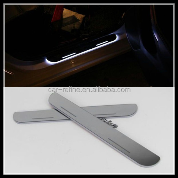 Auto Accessories OEM LED moving scuff For BMW F30 F35 F10 F18 X3 X5 E70 M Performance LED sill LED Door pedal sill plate light