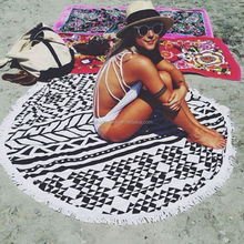 Double Sided Beach Towel Chair Cover, Weighted Beach Towel Stock